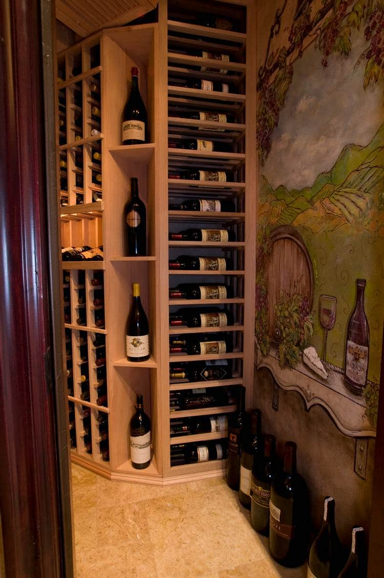 Custom wine cellars chicago illinois ideas and examples for Home wine cellar designs
