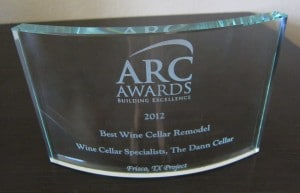 ARC Awards for Wine Cellars SPecialists