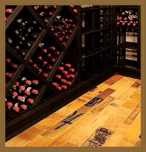 Two Types Of Chicago Wine Cellar Flooring Custom Wine