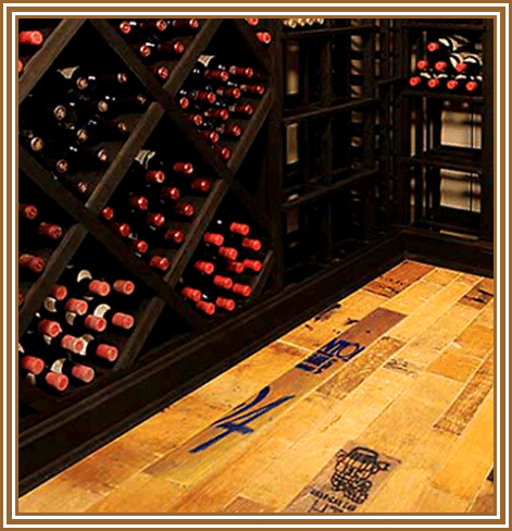 Two Types Of Chicago Wine Cellar Flooring Custom Wine