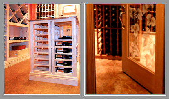 WINE CORK FLOORING & Two Types of Chicago Wine Cellar Flooring | Custom Wine Cellars Chicago